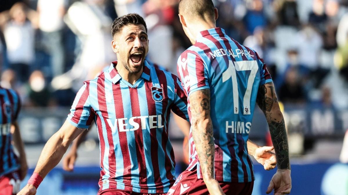 Trabzonspor'da gol yükünü yabancı yıldızlar çekiyor
