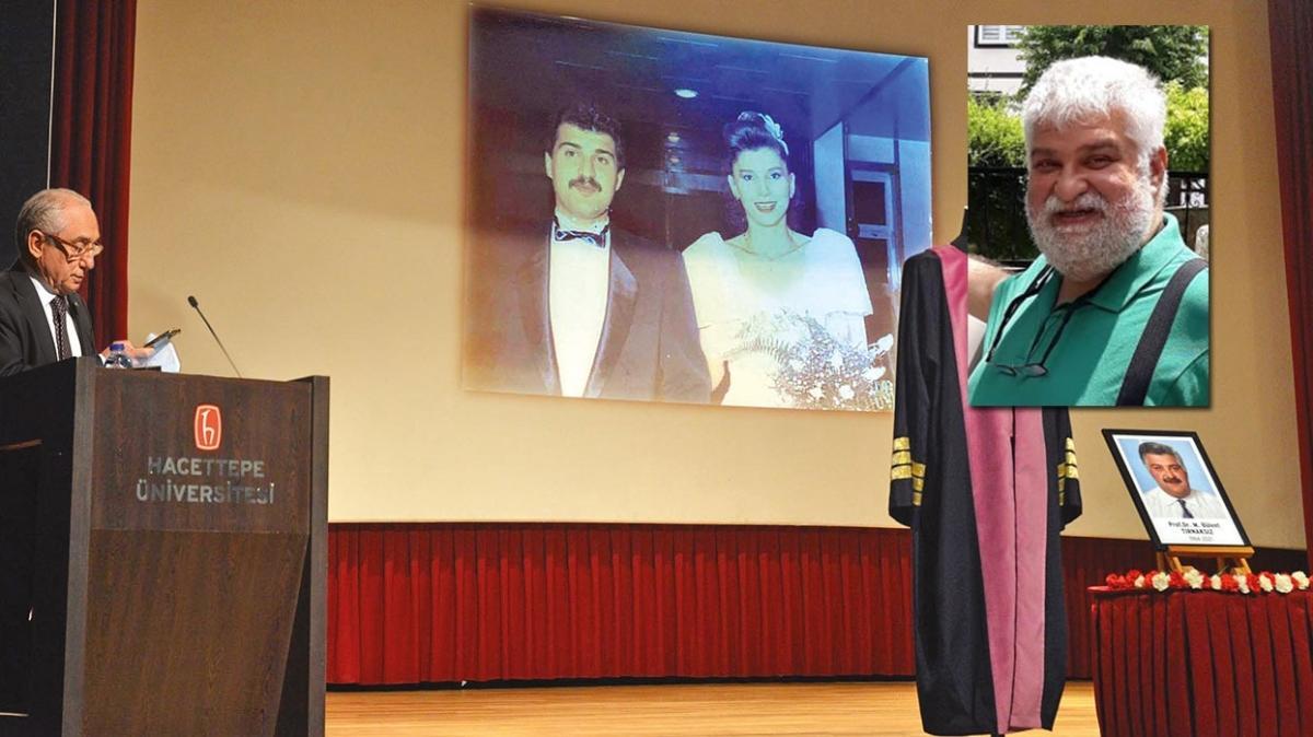 Virüse yenilen Prof.'un cenazesinde duygu dolu sözler: Affet bizi Bülent'im