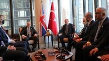 Başkan Erdoğan, Boris Johnson'ı kabul etti... Görüşme sona erdi