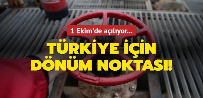 Türkiye için dönüm noktası olacak olan Vadeli Doğal Gaz Piyasası piyasa 1 Ekim'de açılıyor