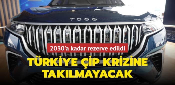 Türkiye çip ve batarya krizine takılmayacak