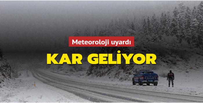 Doğu Karadeniz için uyarı... Kar geliyor