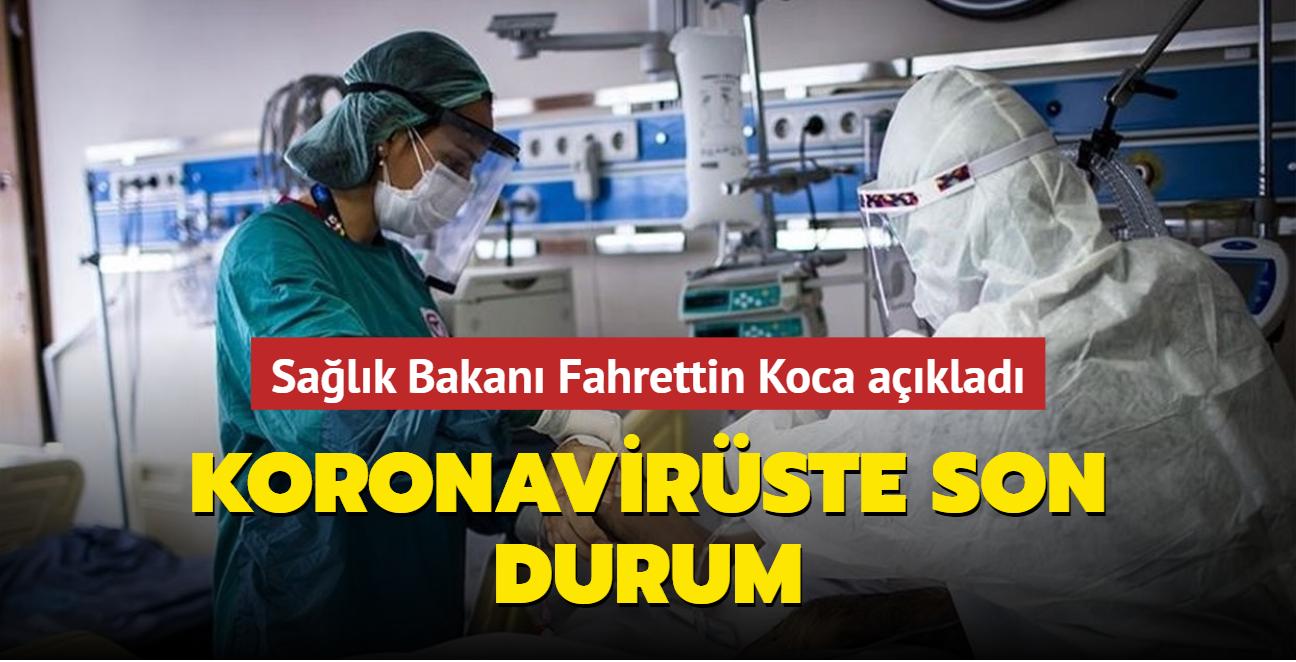 Sağlık Bakanı Fahrettin Koca koronavirüs salgınına ilişkin güncel verileri paylaştı... İşte 22 Eylül 2021 koronavirüs tablosu