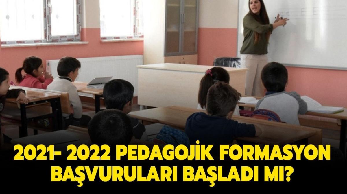"""2021 Pedagojik formasyon başvuruları başladı mı"""" Pedagojik formasyon başvuru şartları neler, hangi bölümler alabilir"""""""