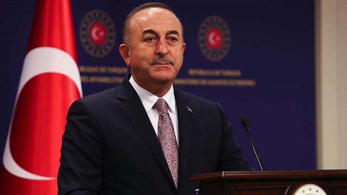 Bakan Çavuşoğlu'ndan Libya ile kritik temas