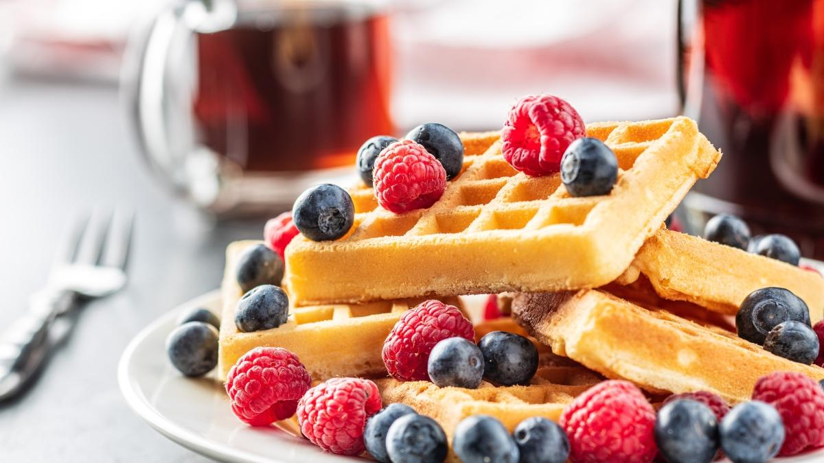 """Evde nefis waffle tarifi! Waffle nasıl yapılır"""""""