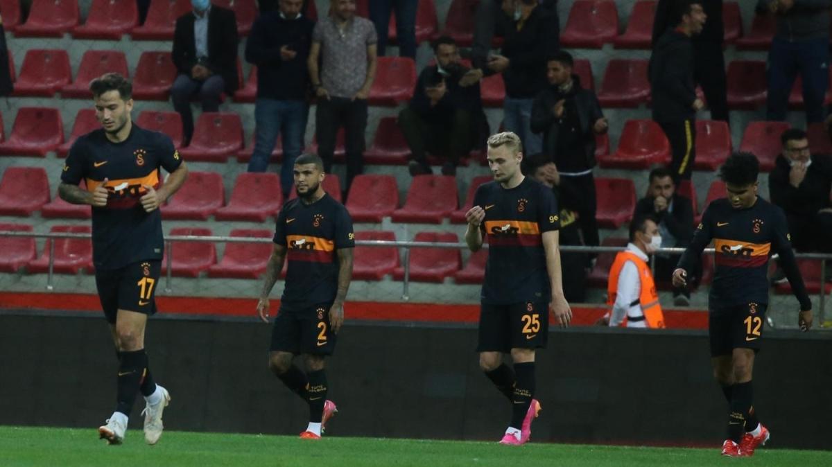 Galatasaray'ın lanetli 237 dakikası