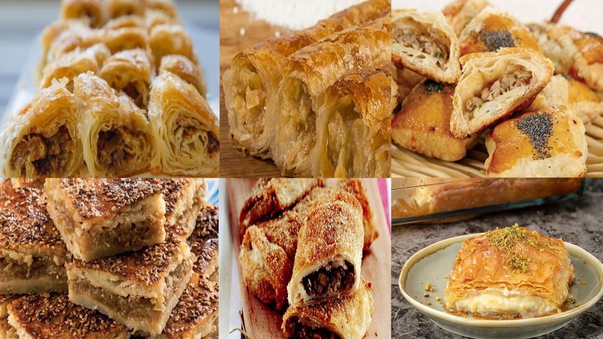 MasterChef börek tarifleri burada! MasterChef Puf Böreği, Avcı Böreği, Laz Böreği, Talaş Böreği, Boşnak Böreği malzemeleri ve tarifi!