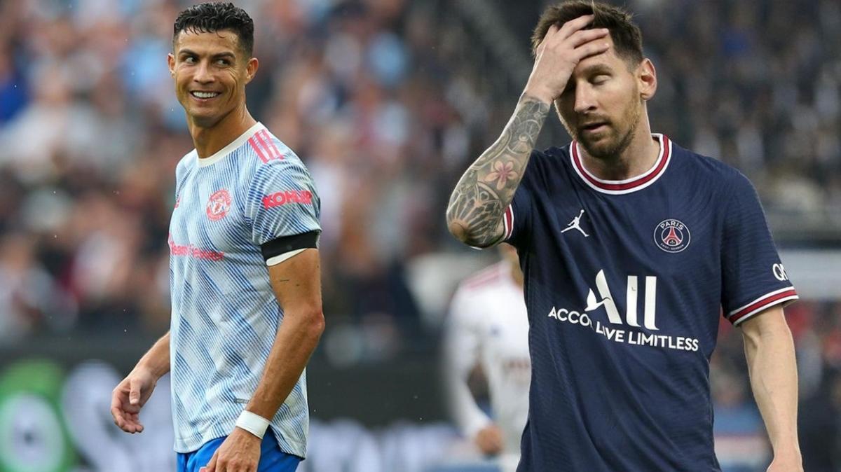 Ronaldo'dan Messi'ye bir gol daha