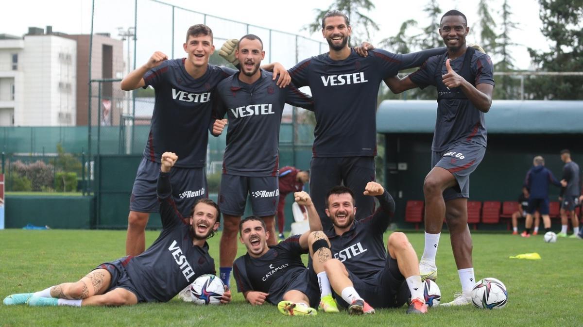 Trabzonspor'da 6 futbolcu hiç süre alamadı