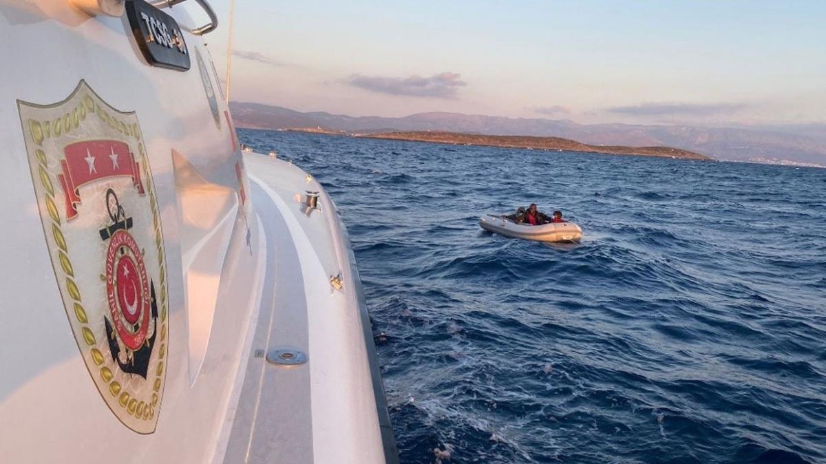 Yunanistan unsurlarınca geri itildiler... 58 göçmen kurtarıldı