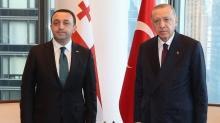 Başkan Erdoğan Garibaşvili'yi kabul etti