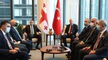 Başkan Erdoğan, Garibaşvili ve Zelenskiy ile görüştü