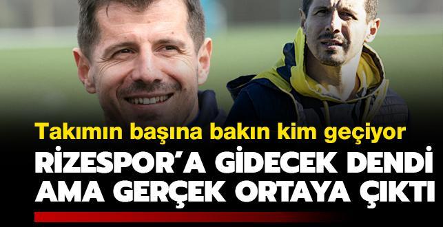 Rizespor'a gidecek dendi ama Belözoğlu gerçeği ortaya çıktı! Yeni takımı...