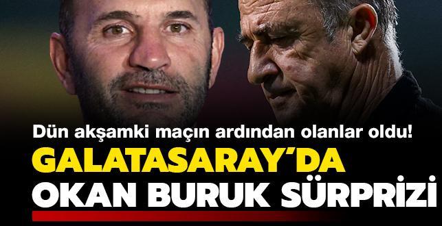 Galatasaray'da Okan Buruk sürprizi! Dün akşamki maç sonrası olanlar oldu