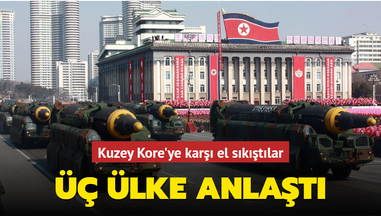 Japonya, ABD ve Güney Kore, Kuzey Kore üzerindeki iş birliğini artıracak
