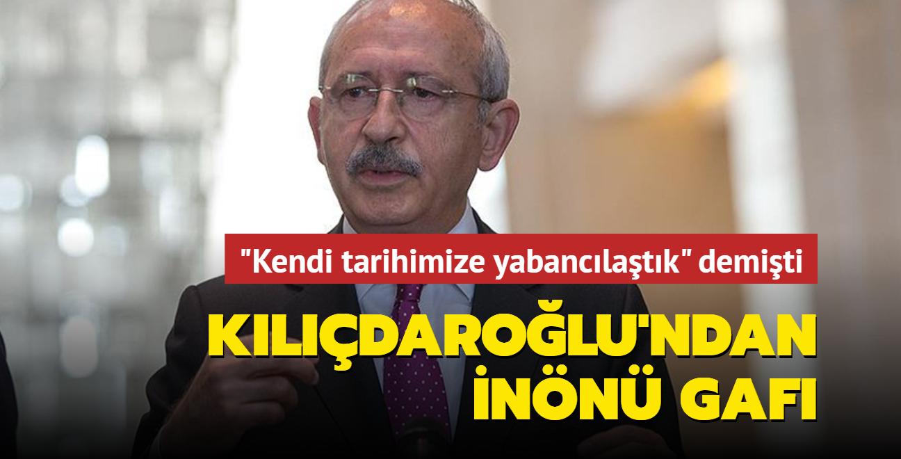 """""""Kendi tarihimize yabancılaştık"""" diyen Kılıçdaroğlu, İnönü'nün kapattığı uçak fabrikalarını unuttu"""