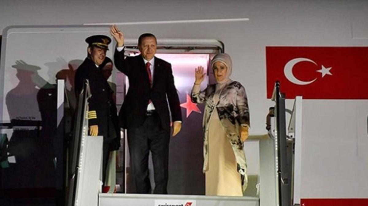 Başkan Erdoğan ABD ziyaretini tamamladı
