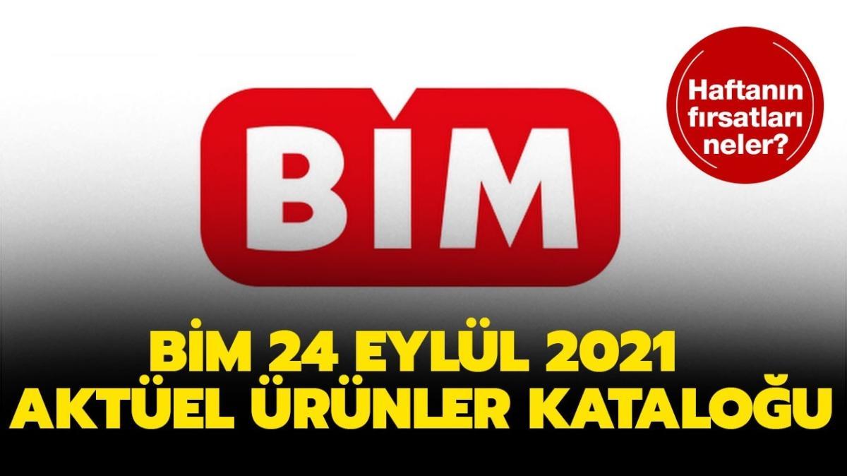"""BİM 24 Eylül 2021 aktüel ürünler kataloğu! BİM'e bugün neler geliyor"""""""