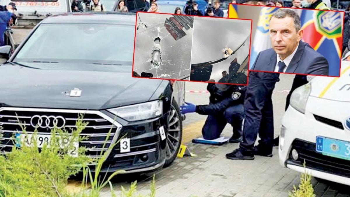 Ukrayna Devlet Başkanı Zelenskiy'nin sağ koluna suikast girişimi