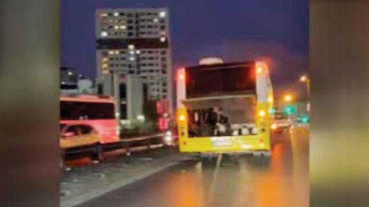 Yine İETT, yine otobüs arızası