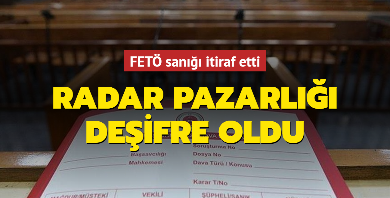 Terör örgütü PKK ve FETÖ arasında radar pazarlığı... İtiraf etti