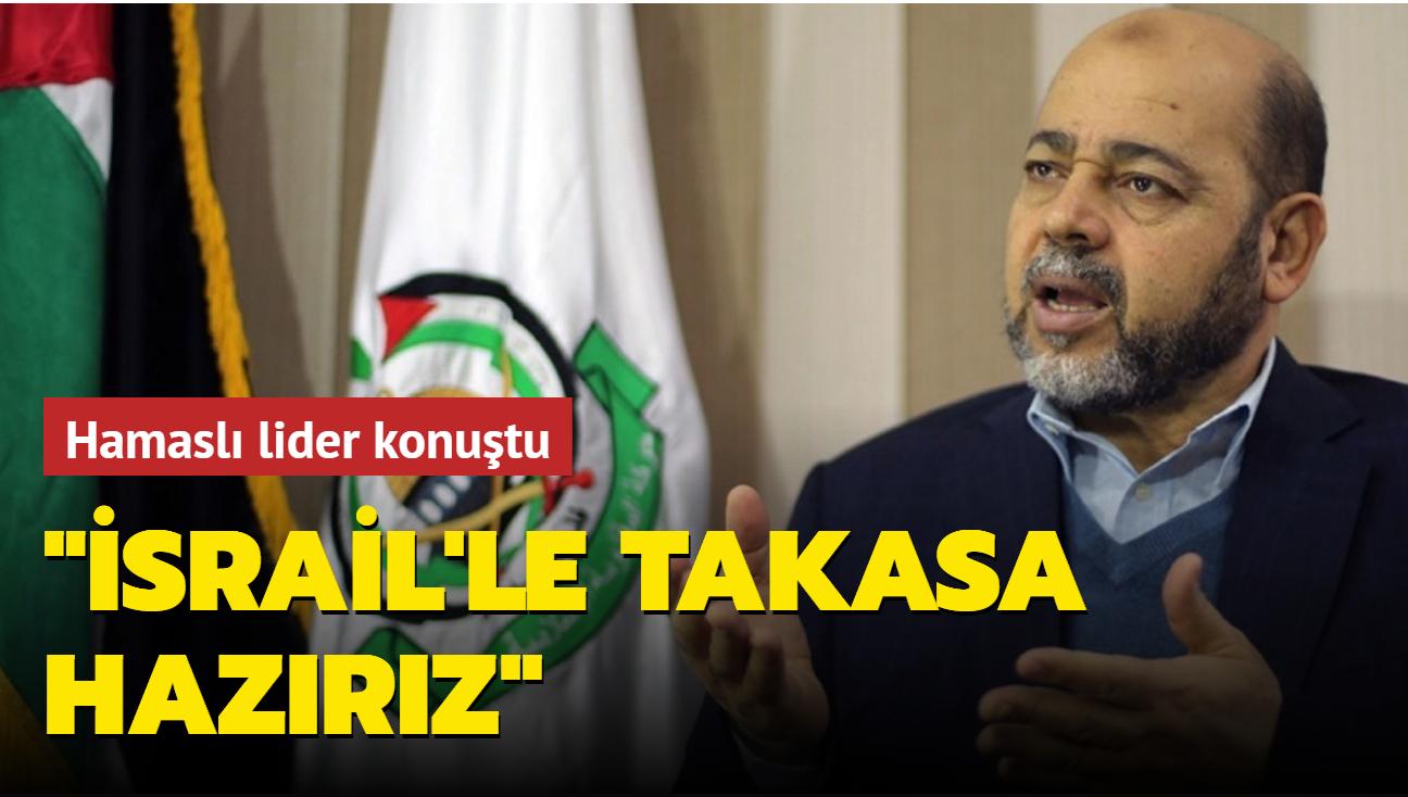 """Hamas sorumlusu Merzuk: """"İsrail'le takasa hazırız"""""""