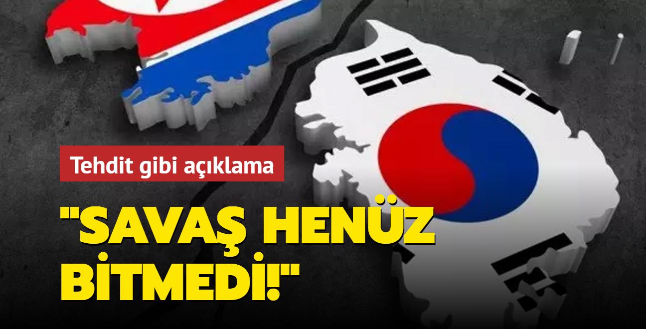 """Kuzey Kore'den """"Kore Savaşına son verme çağrısı için erken"""" çıkışı"""