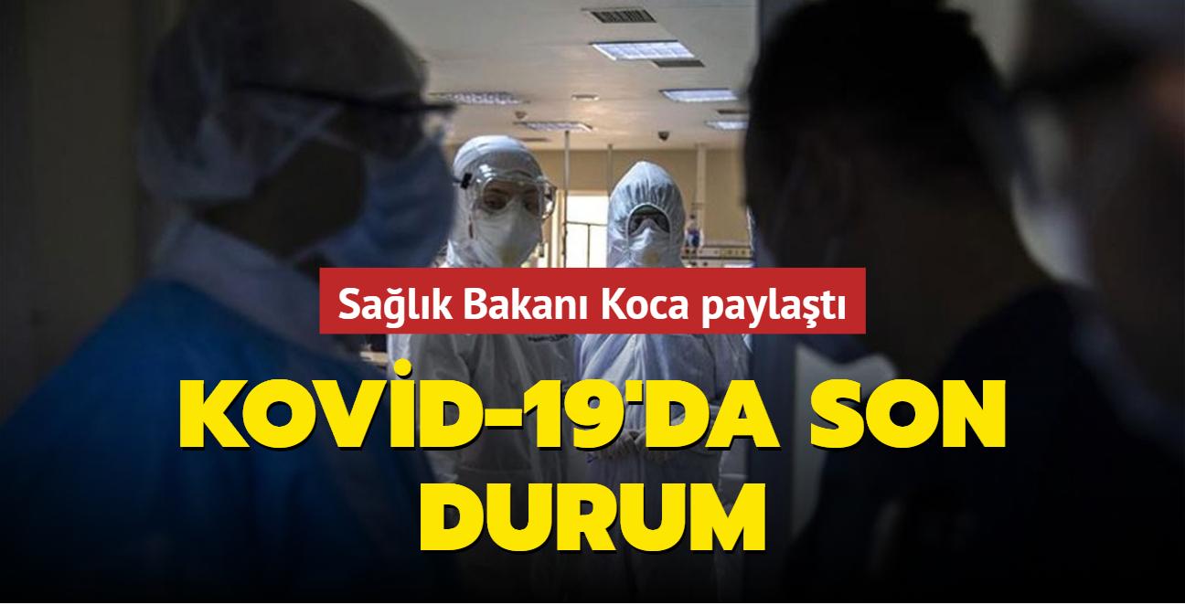 Sağlık Bakanı Fahrettin Koca koronavirüs salgınına ilişkin güncel verileri paylaştı... İşte 24 Eylül 2021 koronavirüs tablosu
