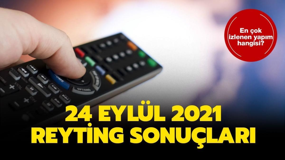 """24 Eylül 2021 reyting sonuçları açıklandı! Arka Sokaklar, Yalancı, Aşk Mantık İntikam, Kırmızı Oda reyting birincisi kim"""""""