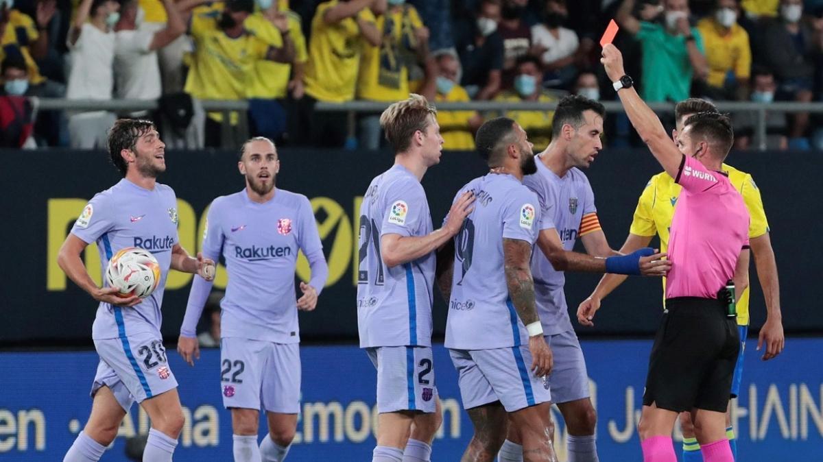 Barcelona deplasmanda Cadiz ile 0-0 berabere kaldı