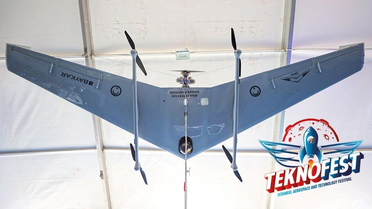 'Bayraktar DiHA'da uçuş testleri