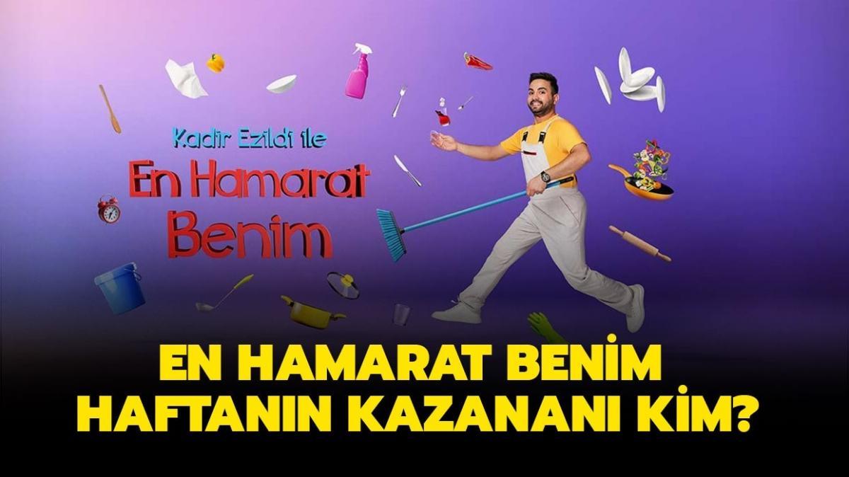 """En Hamarat Benim haftanın kazananı belli oldu! En Hamarat Benim 24 Eylül birincisi kim"""""""