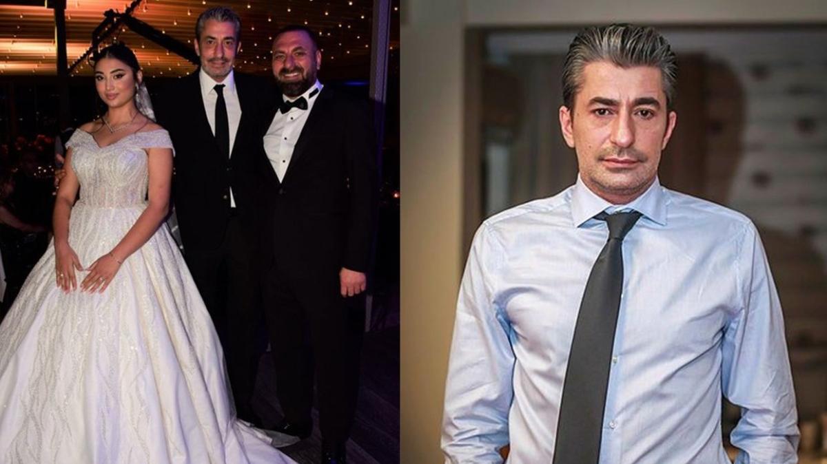 Erkan Petekkaya'nın yeğeni Levent Çatmaz evlendi