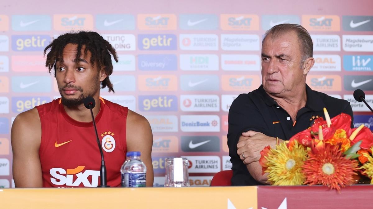 Galatasaray'da Fatih Terim'den Sacha Boey'a yakın takip! Göztepe maçında...