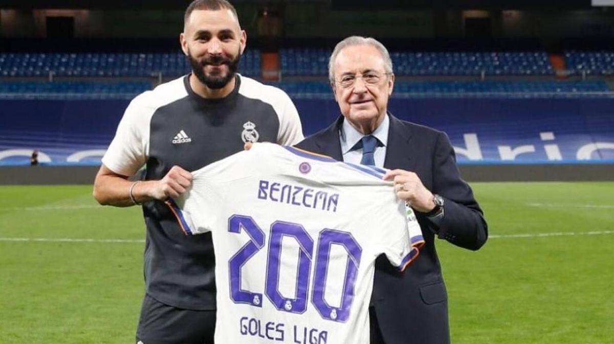 Karim Benzema La Liga'da 200 gole ulaştı