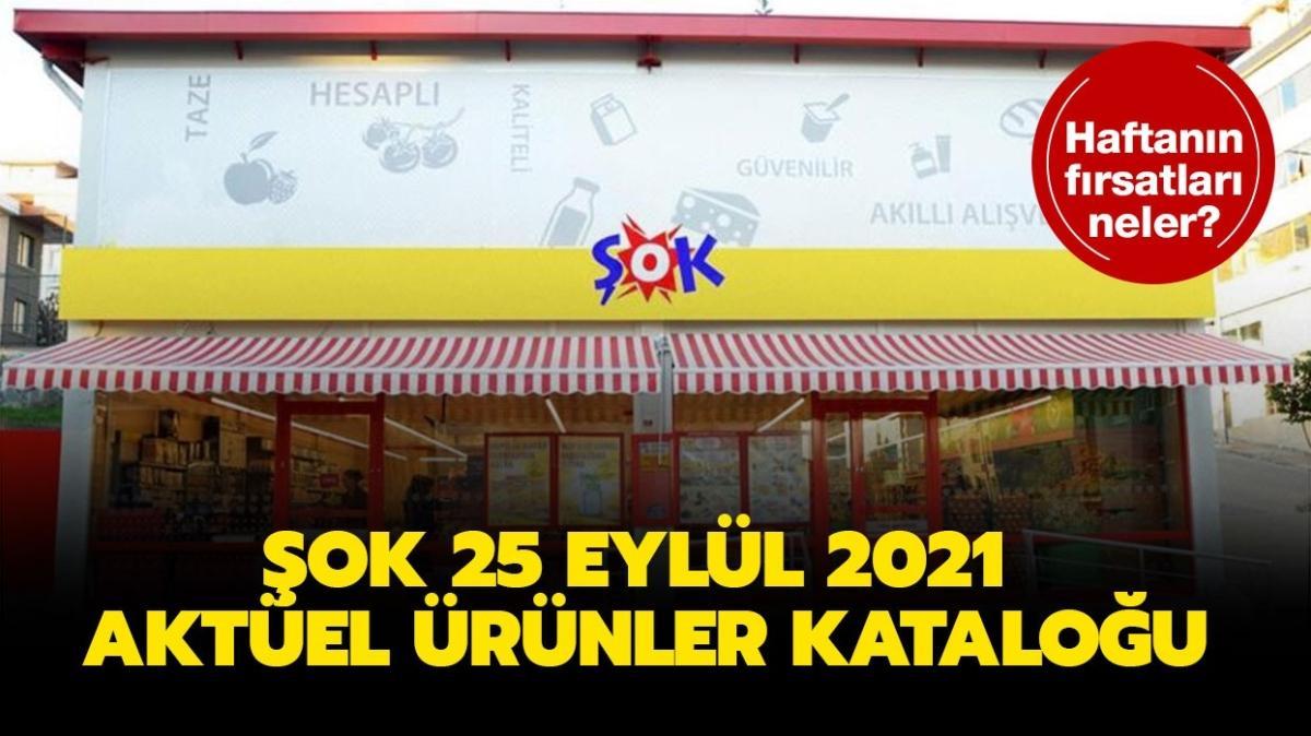 """ŞOK markete bugün neler gelecek"""" ŞOK 25 Eylül 2021 aktüel ürünler kataloğu yayında!"""