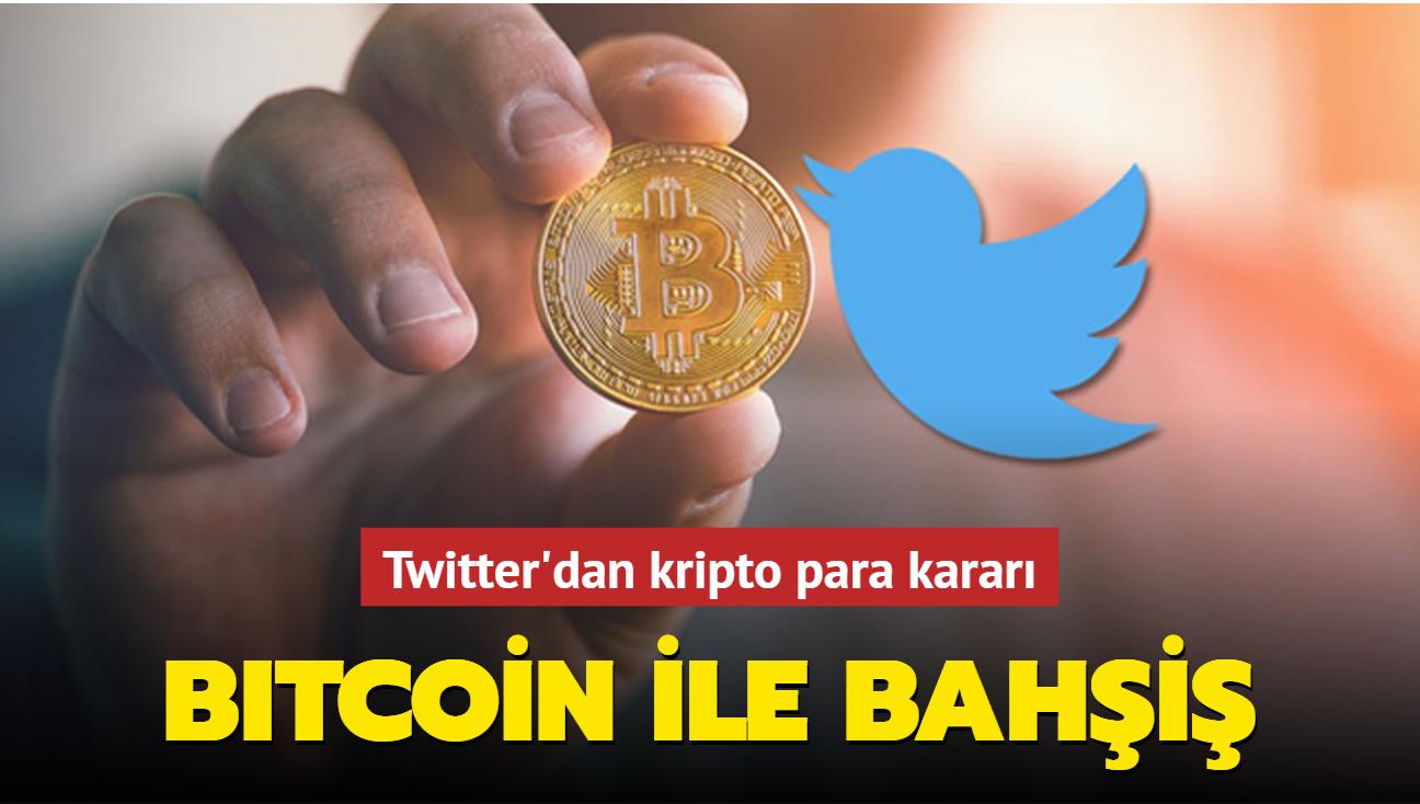 Twitter'dan kripto para kararı: Bitcoin ile bahşiş!