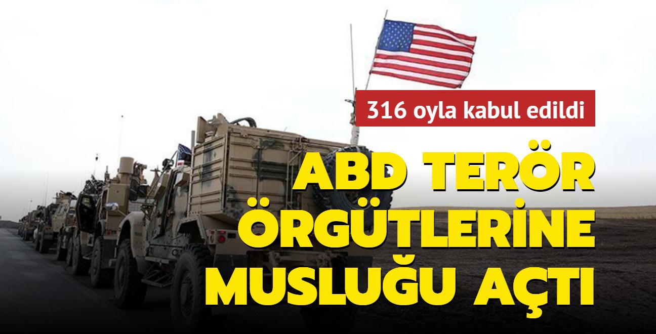 ABD, terör örgütlerine musluğu açtı