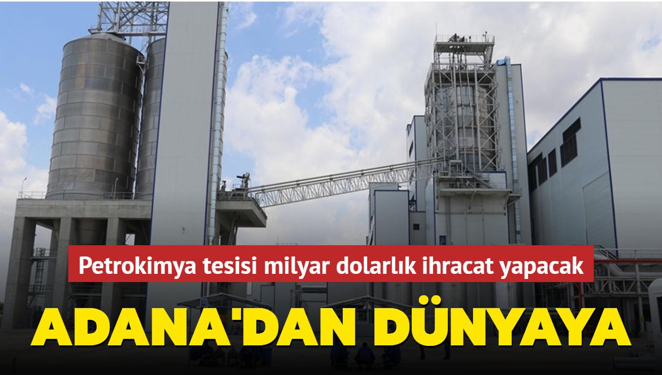 Adana'da inşaatı devam eden petrokimya tesisi 2023'e yetişiyor