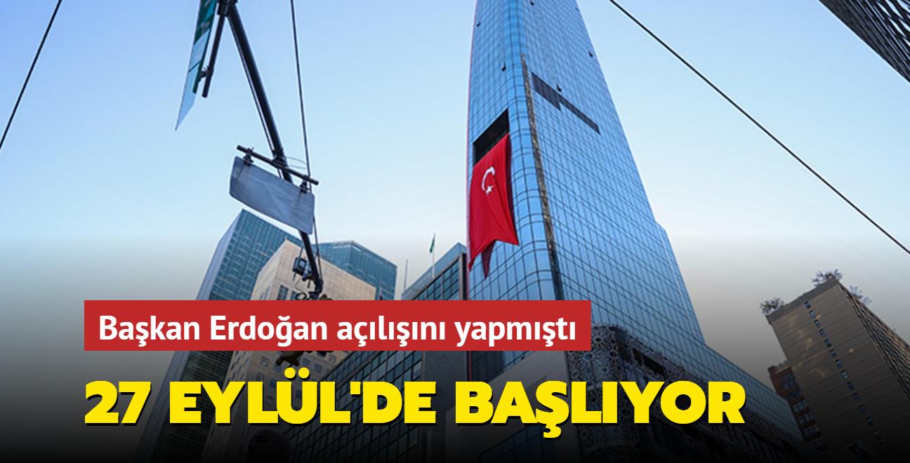 Türkevi 27 Eylül itibarıyla konsolosluk hizmeti verecek