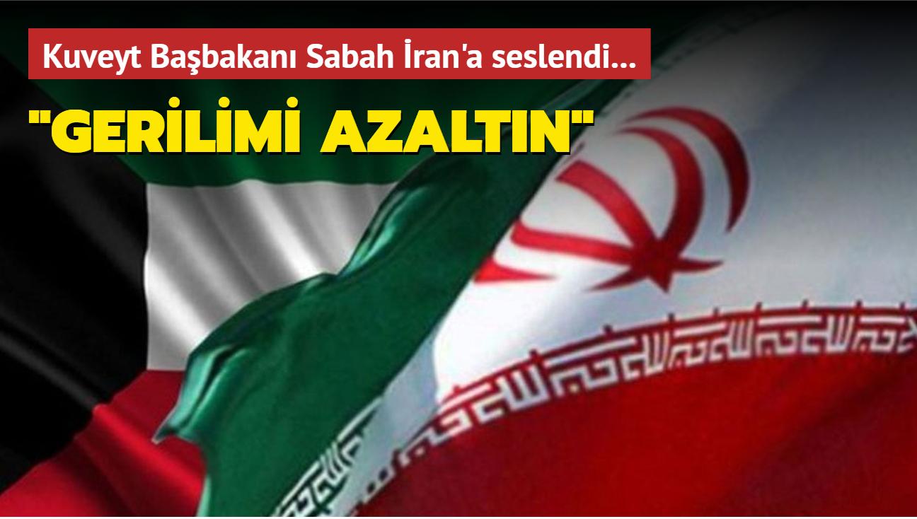 """Kuveyt Başbakanı Sabah İran'a seslendi... """"Gerilimi azaltın"""""""