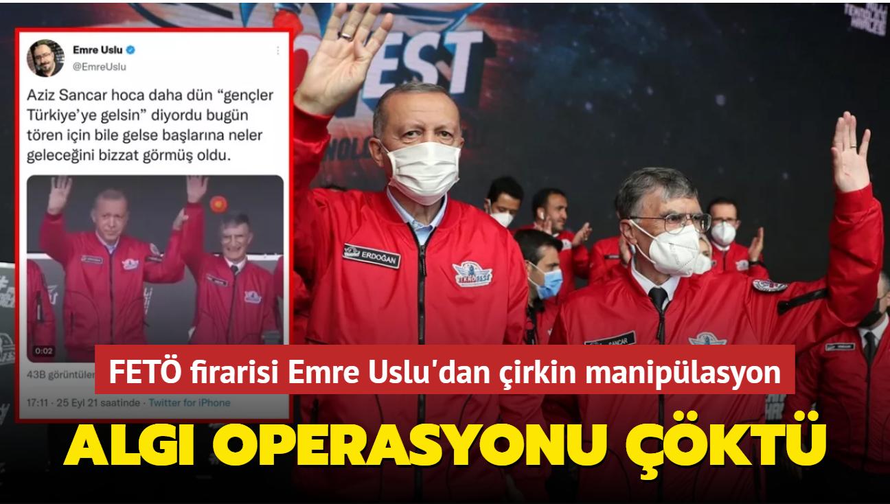 Onedio ve FETÖ firarisi Emre Uslu'dan çirkin manipülasyon... Algı operasyonu çöktü