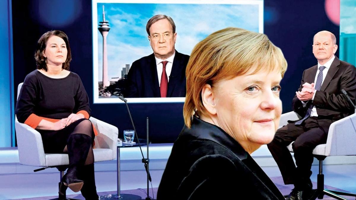 900 bin Türk oy kullanacak! Merkel'in halefi yarın belli oluyor