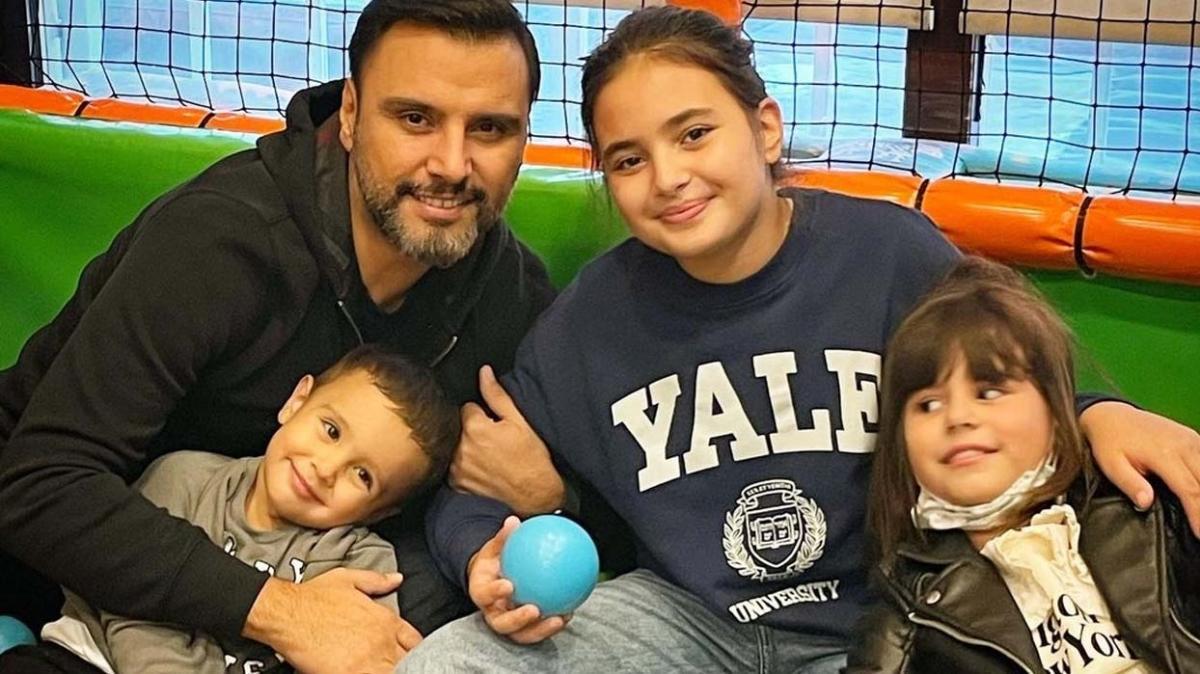 Alişan'dan kardeşi Selçuk Tektaş'ın çocukları ile hafta sonu pozu