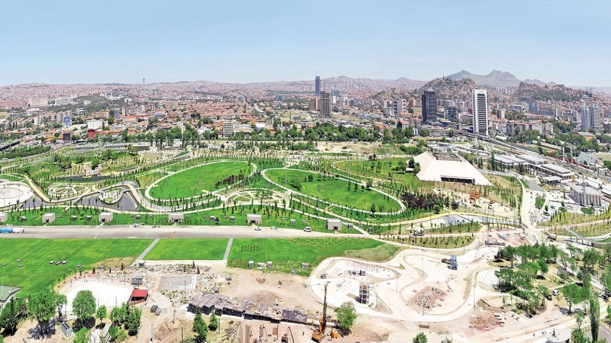 Ankara Millet Bahçesi açılış için gün sayıyor