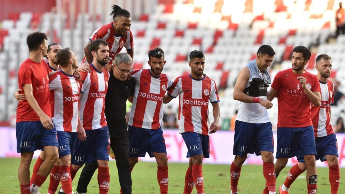 Antalyaspor 3 puanı 89'da aldı