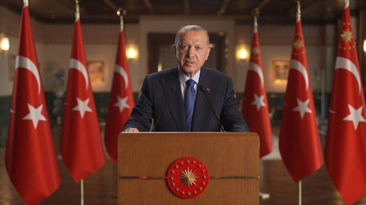 Başkan Erdoğan'dan Türk Dil Bayramı'na özel mesaj