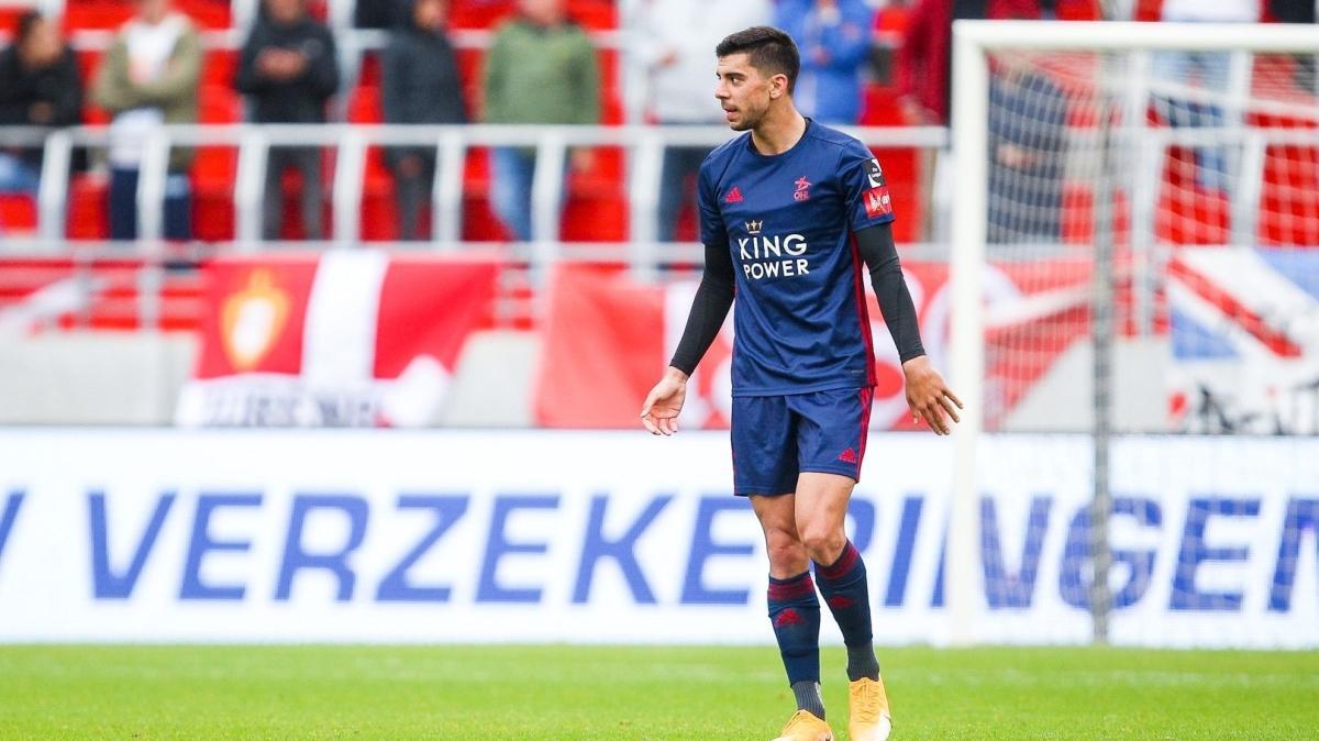 Cenk Özkacar golünü attı, Oud-Heverlee Leuven-Club Brugge maçı berabere bitti