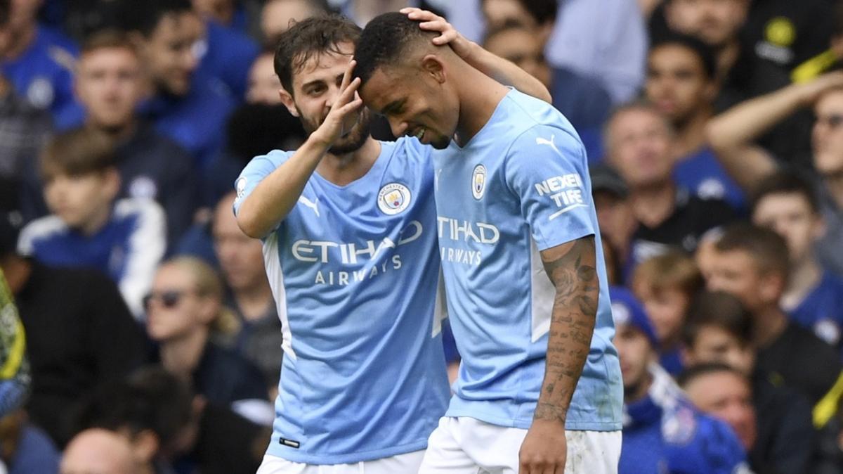 Chelsea sahasında Manchester City'ye 1-0 mağlup oldu